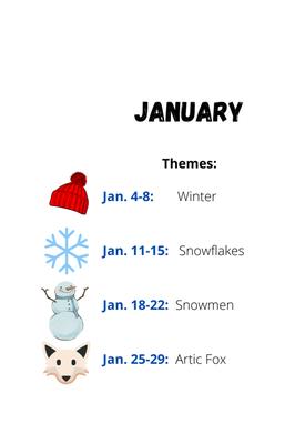 January on the Go