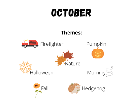 october themes